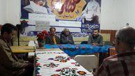 برگزاری شب شعر حسنی در انجمن دوستداران کتاب مهر گنبد کاووس