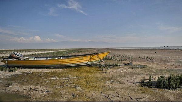 خشک شدن ۱۵ درصد از مساحت خلیج گرگان