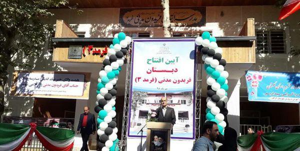 100 مدرسه تا پایان سال در گلستان افتتاح میشود