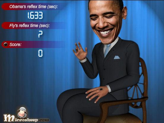 بازی سیاسی اوباما و مگس