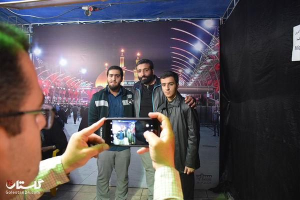 گزارش تصویری / شب پنجم موکب جاماندگان پیاده روی اربعین حسینی