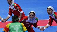 درخشش بانوان کبدی گلستانی با حجاب کامل