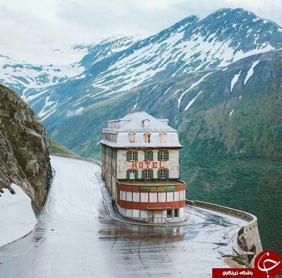 عجیب ترین هتل دنیا در کنار درهای خطرناک+ عکس