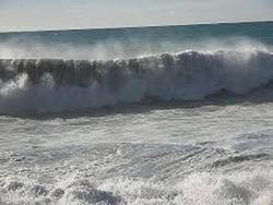 دریای خزر مواج می شود