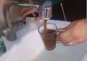 قهوه بجای آب شرب در گنبدکاووس+فیلم