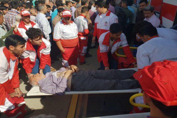 پوشش امدادی جمعیت هلال احمر گلستان به ۴۷ حادثه طی یک هفته گذشته