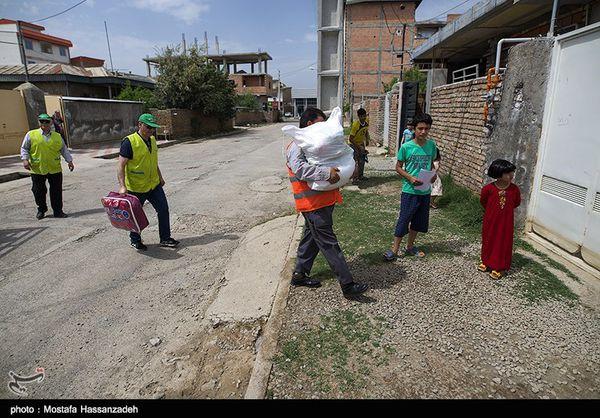 توزیع ۲۰۰ دستگاه یخچال و پنکه میان سیل زدگان گلستان