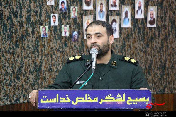 همایش تبیین بیانیه گام دوم انقلاب اسلامی در سپاه گرگان