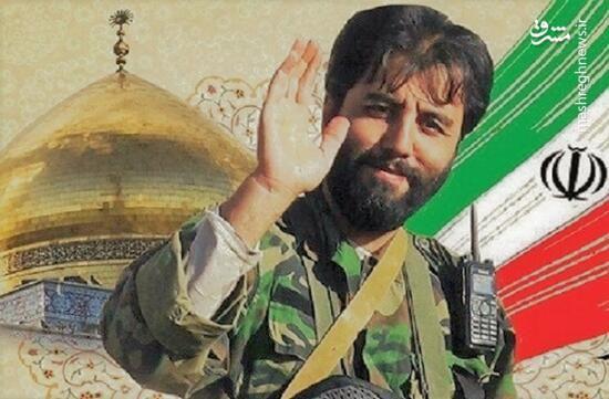 فیلم/ مداحی فرزند شهید مدافع حرم جواد الله کرمی در کنار پدر شهیدش