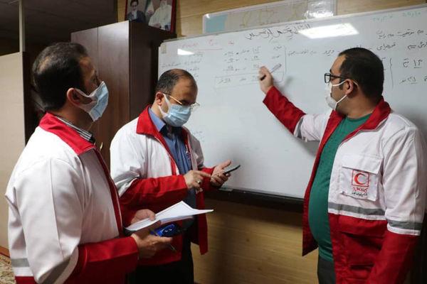 آماده باش ۱۰ تیم امدادی در منطقه زلزله زده رامیان