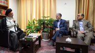 دیدار وزیر ارشاد با نماینده ولی فقیه در گلستان