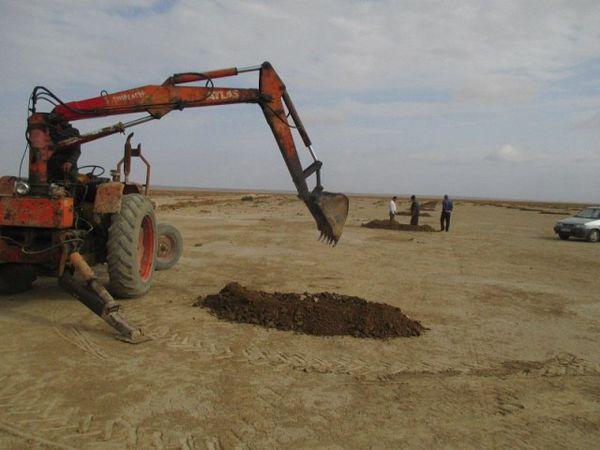 ایجاد 2500 آبگیر در مراتع شمال آق قلا برای جمع آوری آب باران