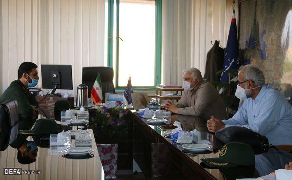 برگزاری جلسه کارگروه تدوین نقش سازمان صمت گلستان در دفاع مقدس