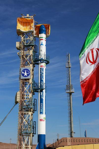 دانلود نخستین فیلم از پرتاب ماهواره فجر
