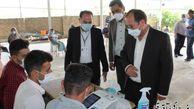 سرپرست فرمانداری و رئیس هیات اجرایی از شعب اخذ رای در شهرستان آق قلا بازدید بعمل آورد