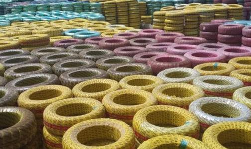 احتکار بیش از ۳ هزار حلقه لاستیک در گرگان