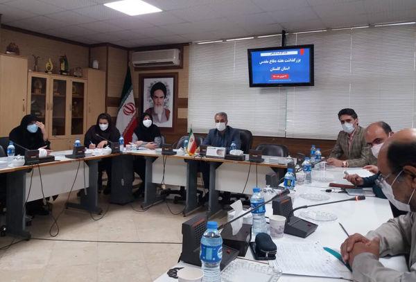 برگزاری جلسه کارگروه فرهنگی هنری دفاع مقدس گلستان