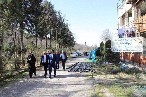 بازدید از پروژه های تکمیل شده و در حال احداث گرگان و علی آبادکتول