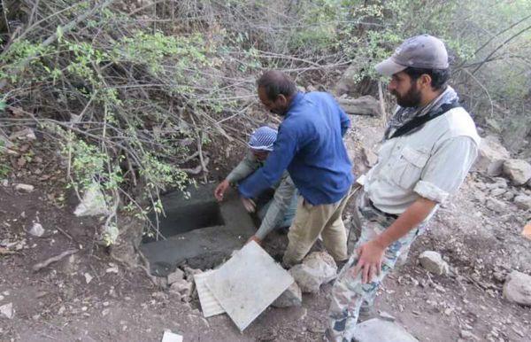 ۲۳ آبشخور و چشمه در پارک ملی گلستان احداث و مرمت شد