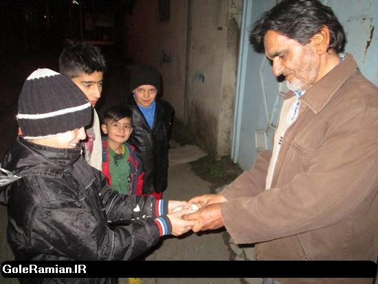 نوروزخوانی «الاشاهی» در رامیان+تصاویر