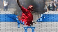 صهیونیست ها از گازهای مشکوک علیه معترضین فلسطینی در غزه استفاده کردند