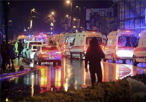 ۳۵ کشته و ۴۰ زخمی در حمله بابانوئل مهاجم به باشگاهی در استانبول
