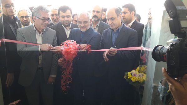 درمانگاه شبانه روزی فرهنگیان گنبد با حضور وزیر آموزش و پرورش افتتاح شد