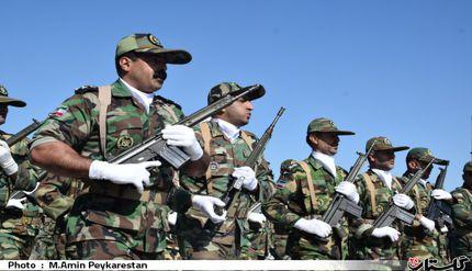 مراسم رژه ی اقتدار و قدرت  نیرو های مسلح در گرگان