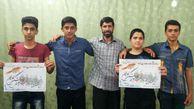 تصاویر کمپین استقبال از 13 شهید غواص و خط شکن استان گلستان (3)