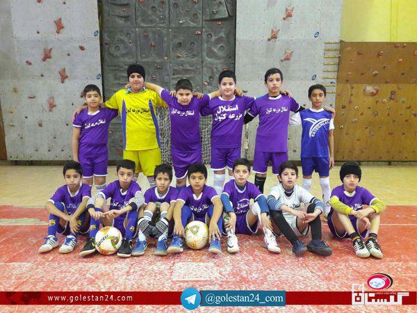 پایان رقابت های فوتسال در علی آباد کتول / پرسپولیس علی آباد قهرمان شد