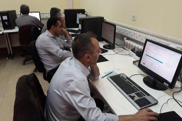 برگزاری آزمون الکترونیکی مدیران مدارس گلستان