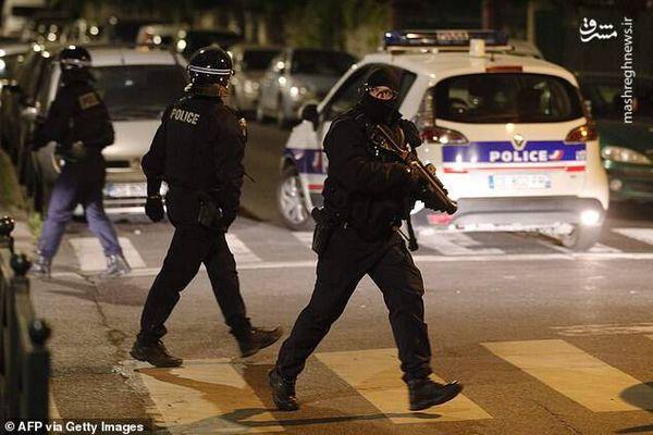 فیلم/ درگیری میان جوانان و پلیس فرانسه
