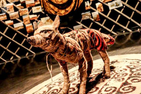 """نمایشگاه هنری """"روباه دشت اینچه"""" در گرگان به پایان رسید"""