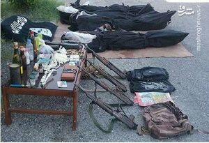 تصاویر اجساد و ادوات ۴ فرد به هلاکت رسیده در هرمزگان