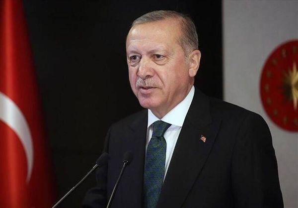 شعرخوانی اردوغان به زبان فارسی در سخنرانی تلویزیونی! +فیلم