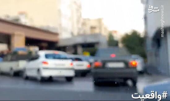 فیلم/ شایعه و واقعیت آتشزدن پمپ بنزین خیابان شریعتی!