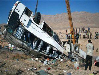تصادف اتوبوس حامل مسافران هواپیمای مشهد- ساری، 12 نفر را به کام مرگ کشاند+ جزئیات حادثه