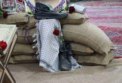 برپایی نمایشگاه دستاوردهای دفاع مقدس در دادگستری کل استان