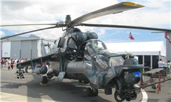 گشتزنی تانکهای پرنده بر فراز پایگاه نظامی روسها در لاذقیه