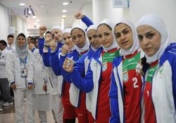 اغاز اردوی تیم ملی کبدی بانوان در گرگان