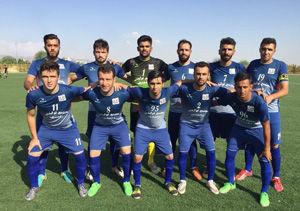 برگزاری دیدار دارایی گز در هفته هشتم لیگ دسته سوم فوتبال کشور