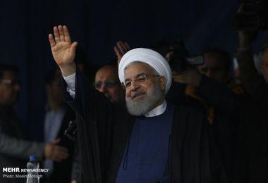 گزارش تصویری /سفر رئیس جمهور به استان گلستان
