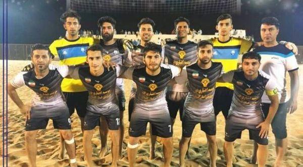 باخت ملوان بندرگز در مقابل تیم دوم جدول لیگ برتر ساحلی