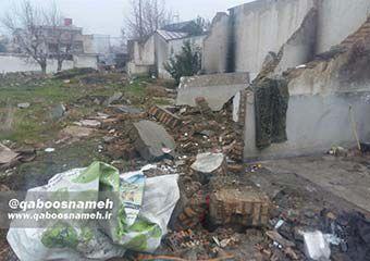 رفع آسیب از محل مدرسه تخریب شده در انتظار تصمیم جهادی اداره کل