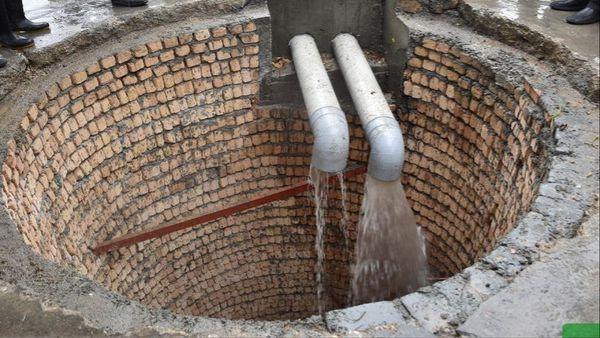 ذخیره سازی۹۶ هزار لیتری آبخوان منابع طبیعی در پی بارش باران