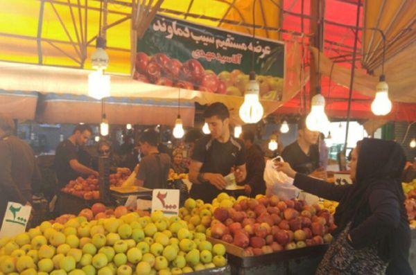 گزارش تصویری از حال و هوای بازار نعلبندان گرگان در آخرین روز سال 1394