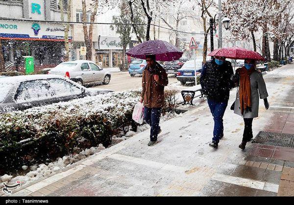 هواشناسی ایران ۹۹/۱/۲۱| تداوم بارش برف و باران در ۲۹ استان تا دوشنبه آینده