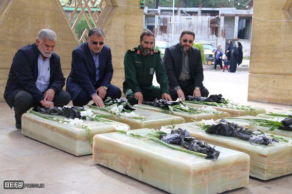 گزارش تصویری / بازدید معاون استاندار گلستان از مرکز فرهنگی و موزه دفاع مقدس استان