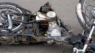 فوت راکب موتورسیکلت در حادثه تصادف