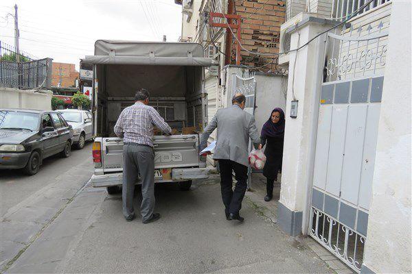 کمک کارکنان واحد گرگان به ایتام و کودکان بدسرپرست